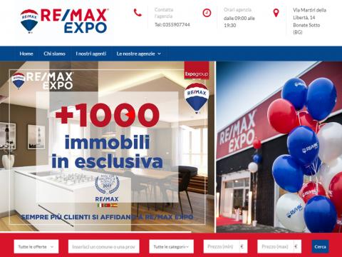 Sito web per Agenzia Immobiliare REMAX EXPO